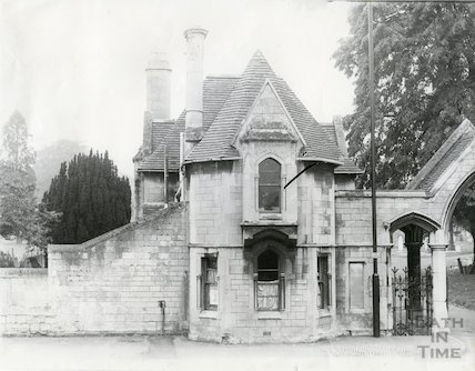 Lodge, St. James' Cemetery, Lower Bristol Road c.1960s