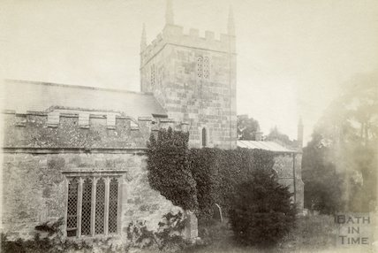 Englishcombe Church (view from south side) c.1880