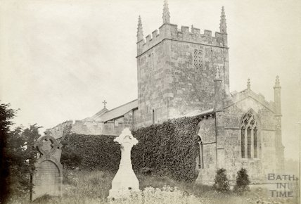 Englishcombe Church (view from south-east) c.1880