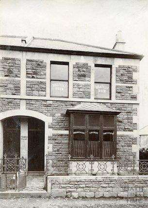 Moorfields Church Institute, Triangle Villas c.1880