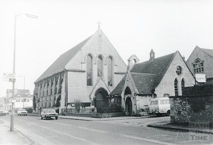 St Peter's Church, Twerton 1985