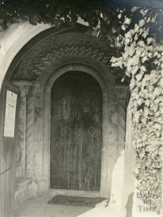 Norman Doorway, St. Mary Magdalene Church, Langridge c.1900