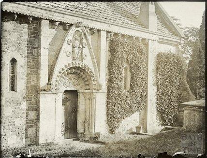 Lullington Church, North side c.1910