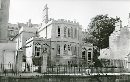 The Countess of Huntingdon's Chapel, Vineyards, Bath, after restoration c.1987