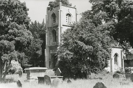 Ruin of Bathwick Chapel March 1970