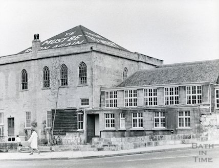 Widcombe Baptist Church (from Widcombe Hill) 1968
