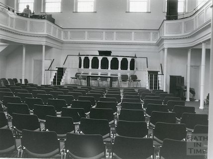 Widcombe Baptist Church new interior 10 December 1980