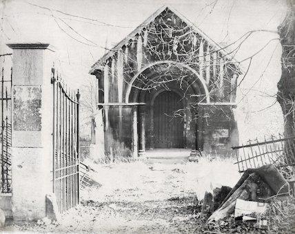 Walcot Mortuary Chapel, Ocotber 1965