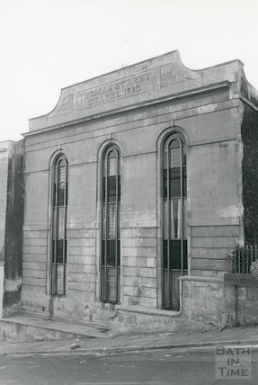 Thomas Street Chapel, off London Road, November 1983