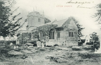 Litton Church, near Harptree, Somerset 1905