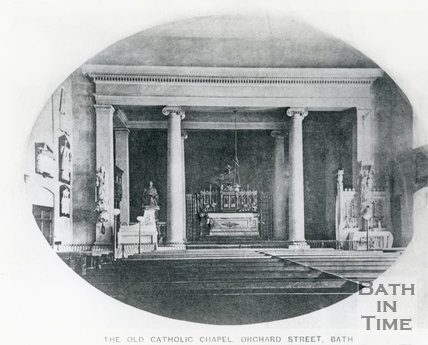 The Old Catholic Chapel, Orchard Street, Bath