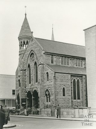 Manvers Street Baptist Church 1968