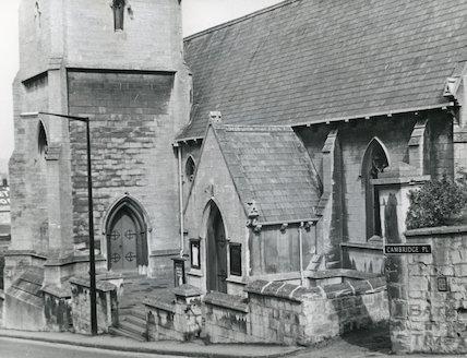 St Matthew's Church, Widcombe 1968