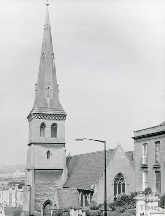 St Matthew's Church, Widcombe 1968