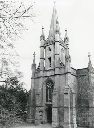 Holy Trinity Church, Combe Down, December 1980