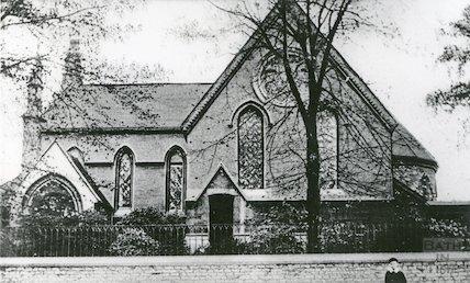 St. John's Lower Weston, Upper Bristol Road (postmarked) 6 November 1907