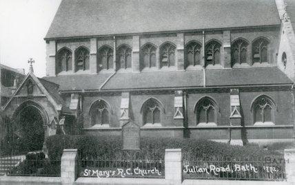 St. Mary's R. C. Church, Julian Road, Bath , c.1910