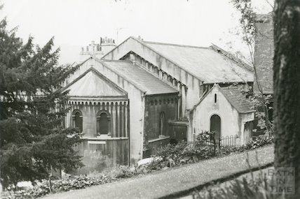 Rear of St. Mary's R. C. Church Hall from Vineyards/Guinea Lane March 1970