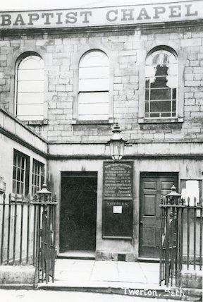 Baptist Chapel, Twerton, c.1910