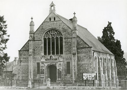 Weston Methodist Church 1970