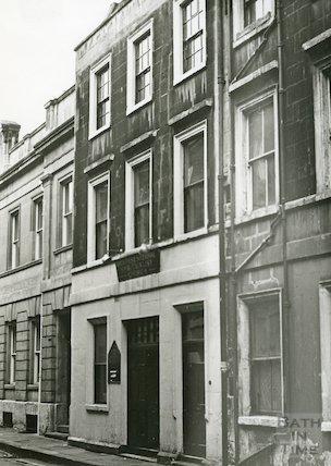 Bath First Spiritualist Church, Old Orchard Street, 1970