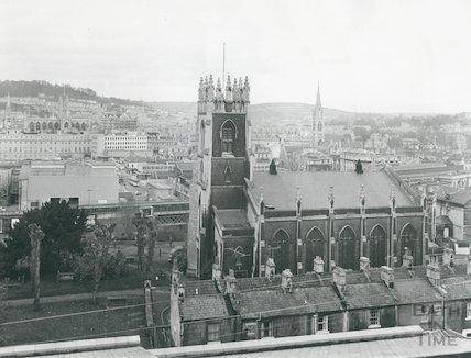 St. Mark's Church Lyncombe January 1972