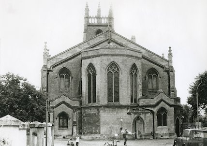 St. Mark's Church Lyncombe 1970