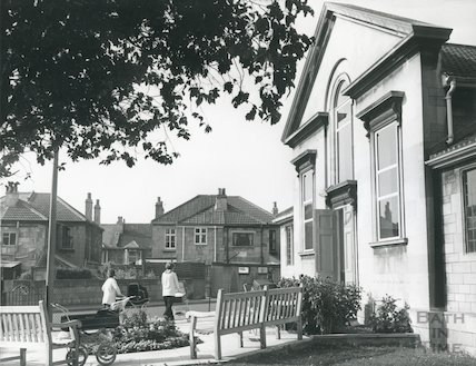 Oldfield Park Baptist Church October 1972