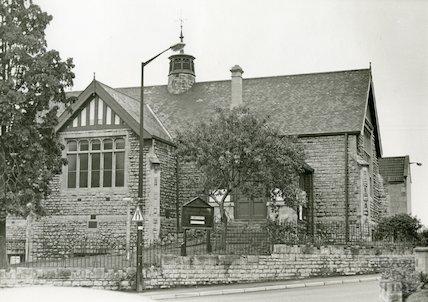Oldfield Park Methodist Church October 1970
