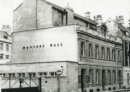 Manvers Hall, Old Orchard Street 1970