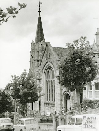 Beechen Cliff Methodist Church, Bath, 1970