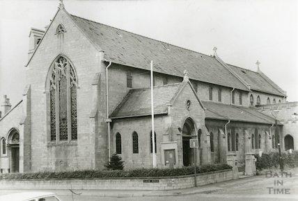 Ascension Church, Claude Avenue, Bath 1970