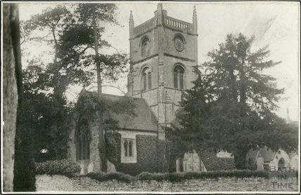 St. Margaret Church, Queen Charlton March 1929