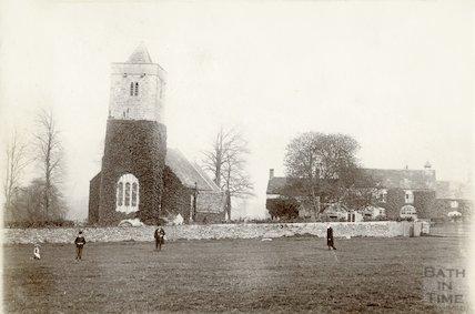 St. Leonard Church, Farley Hungerford, c.1890