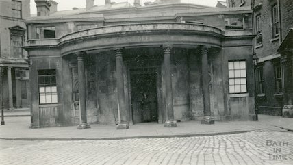 Cross Bath showing Portico, c.1920s