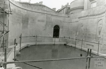 Cross Bath Restoration February 1989