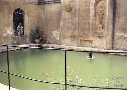 Cross Bath before restoration July 1994