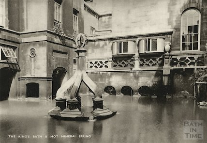King's Bath and Hot Mineral Spring, c.1910s