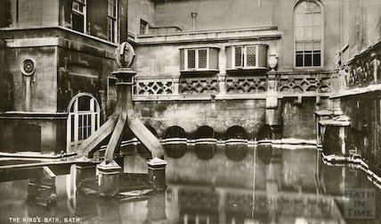 King's Bath - view looking East c. 1912