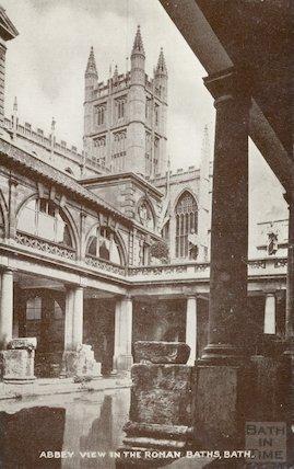Roman Bath looking North East