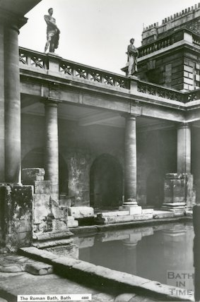 Great Bath, Roman Bath, c.1950s