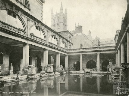 Roman Great Bath, c.1910