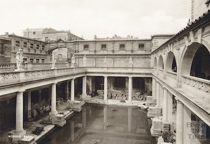 Roman Great Bath, c.1910s