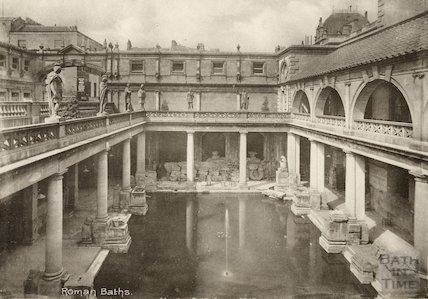 Roman Baths, c.1905