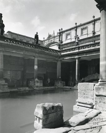 Roman Bath looking South West 1975 / 6
