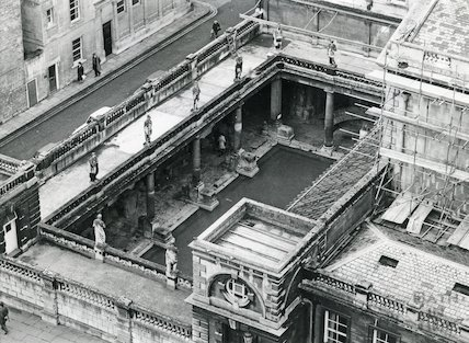 South View of Great Roman Bath 1977