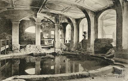 Circular Bath, Bath 1907
