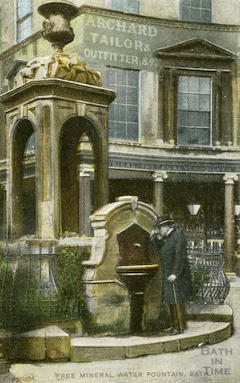 Free Mineral Water Fountain (Pieroni Fountain) September 1906