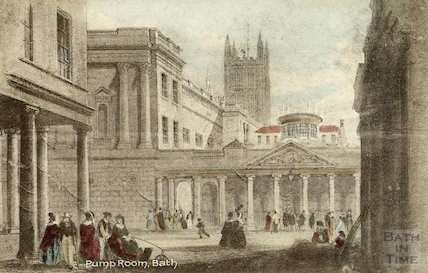 Baths and Pump Room, Bath 1841