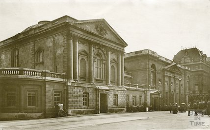 Pump Room from the North East corner of Abbey Churchyard, c.1930s